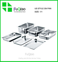 Restaurant Hotel Supplies Baking Sheet Full Size Metal Stainless steel Hotel Pan Gn Pan