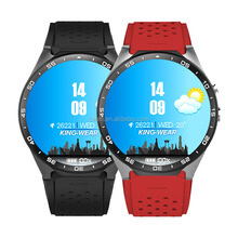 KW88 1.39 inch Round Screen Single SIM Card WiFi GPS Android Smart Watch Phone