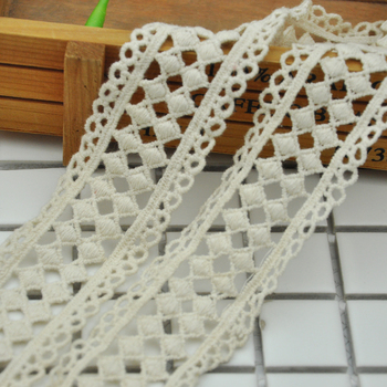 squared shape can be dye color neck chemical lace trim WLC-535