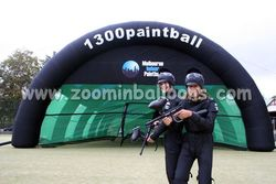 Top quality inflatable paintball tent for camping N5074