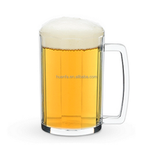 Hot Selling custom printing design plastice 5OZ Beer Tasting Mug Cup
