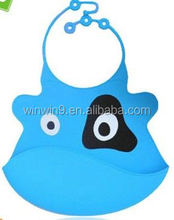 cut product Baby bib, silicone material, washable , kitchen tool