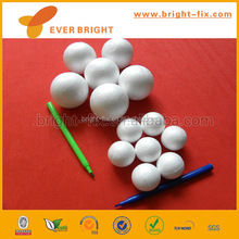 Styrofoam Balls for Christmas Decoration Supplies and Party Ornament,painting foam ball