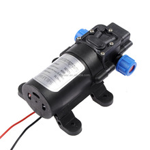 DC 12V 5L/min 60W Micro Diaphragm portable High Pressure Water Pump washing machine small water booster pump