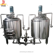 300L beer brew kettle 300L stainless steel mash tun 300L brewery used for beer sale