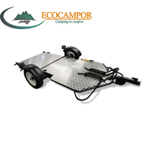 Small Folding Motorcycle Trailer for Harley Motorbike