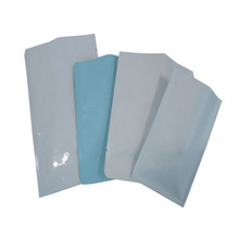 Custom three side seal small laminated aluminum foil mylar plastic bag