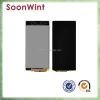 original new lcd touch screen digitizer, lcd front housing for sony z2+