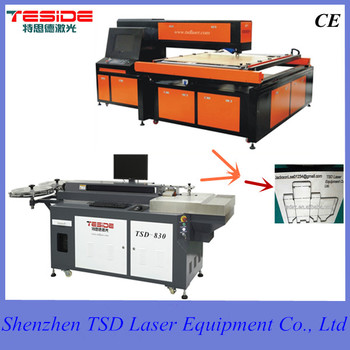 CNC CO2 laser cutting machine China for laser dieboard cutting,die cutting,die making in die cutting,packaging & print industry