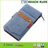 Clip wallet leather case for iphone 6 with card holder