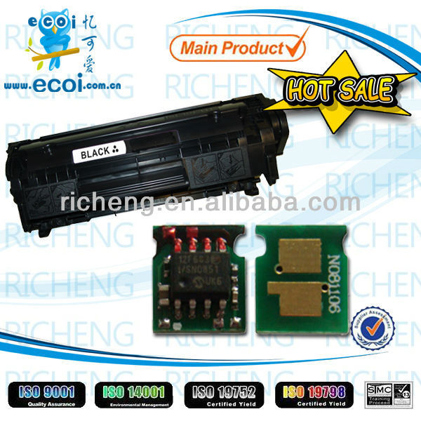 Hot sales toner chip for HP 435/436/285 universal toner cartridge