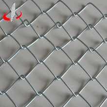 China Temporary Construction Galvanized Chain Link Fence for Sale