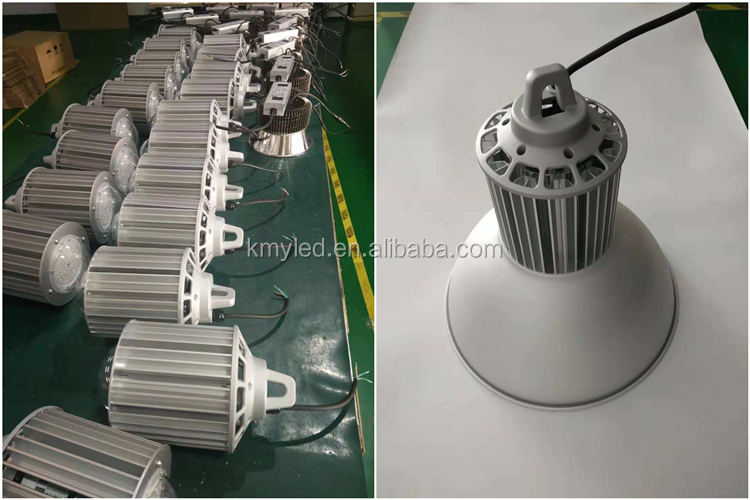 0-10V Dimmable Aluminium Industrial Bell LED Highbay Light 100W 150W 200W