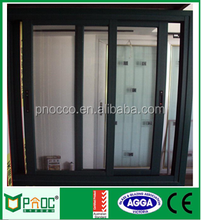 Aluminium Frame Profile mill finish Sliding Window PNOC102517LS