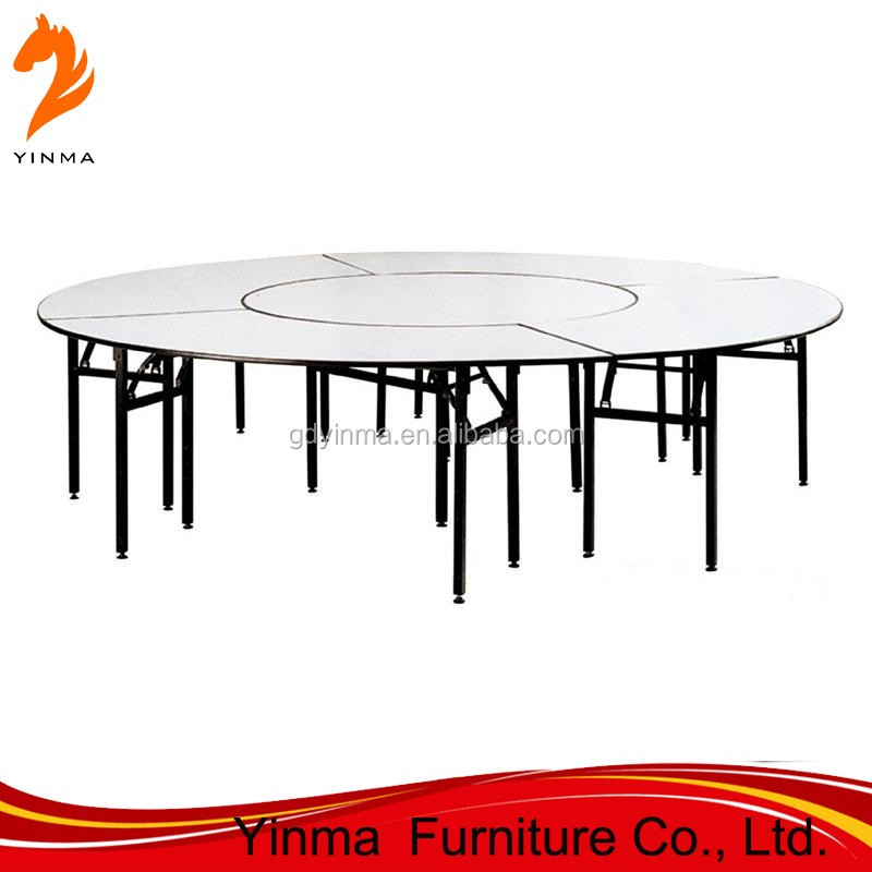 2015 Factory sale double layer dining table