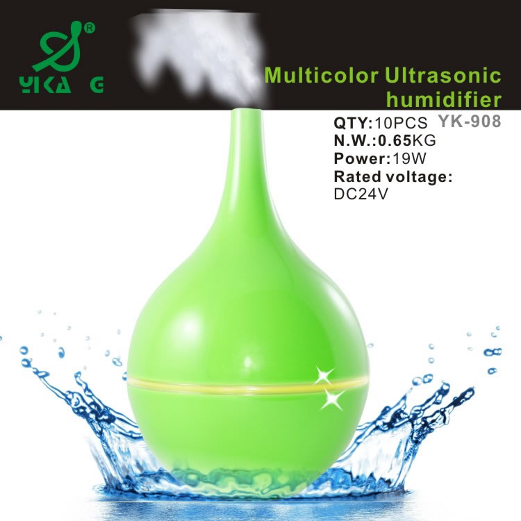Various Colors Of Cool Mist Ultrasonic Humidifier,Mini Air Humidifier,Super Humidifier