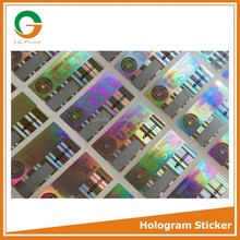 Multifunctional sticker 3d holograms with top quality