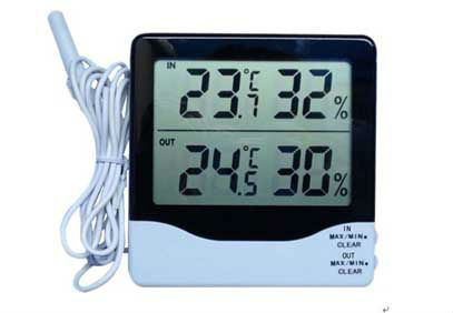 2015 factory promotional mini thermometer hygrometer digital probe
