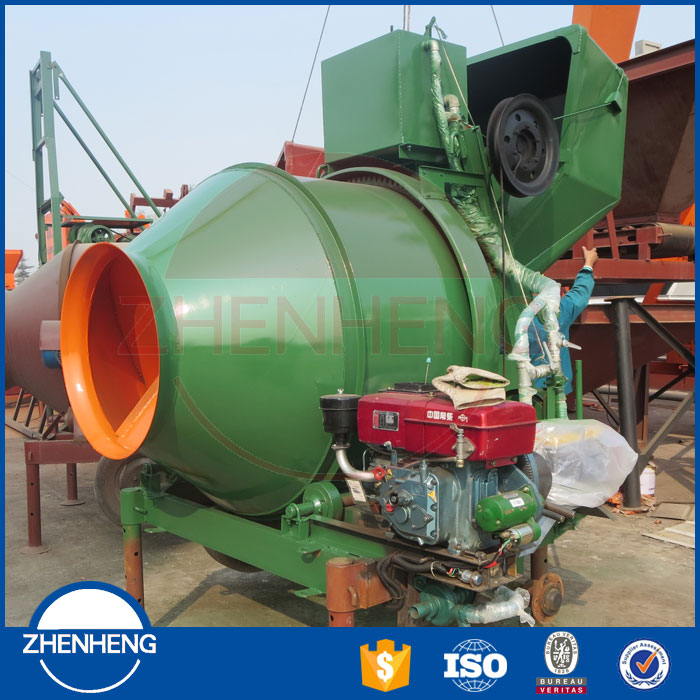 Widely Used and Low Cost JZR350 JZR 350 Portable Mobile Cement Concrete Mixer