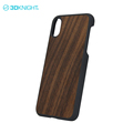 Anti-scratch mixed wooden cases for iphone X case shockproof