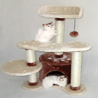 Wholesale china factory Eco-friendly cheap price durable indoor high luxurious cat tree