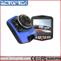 HD Rotatable LCD Vehicle DVR with 140 degree wide view angle 2.4 inch TFT LCD Screen