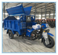 triciclo de carga precio triciclo electrico automatic three wheel hydraulic rubbish motorcycle for sale in Sudan