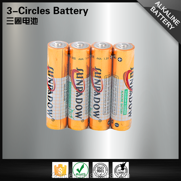 Top selling cheap 1.5v LR03 alkaline dry battery size aaa am4
