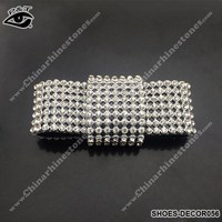 New Design Rhinestone Mesh Clip For