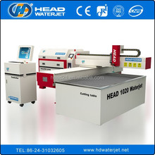 china suppier No tooling required cutting water jet machine