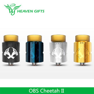 2017 New coming best vapourizer OBS Cheetah II RDA