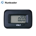 Runleader Digital Display Volt Meter Waterproof New Volt Meter For Battery Charging Display