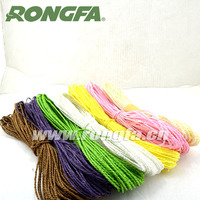 3mmx15m Colorful Paper Twine Rope For DIY craft and decoration