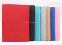 PU flip leather case with card holder for ipad air 2, stand wallet case for ipad air 2 ipad 6