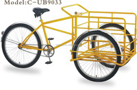 PEDAL TRICYCLE / TRIPORTEUR/ TRICICLO