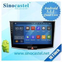 Newest Car Stereo Android ROM 16GB Bluetooth 1080P FHD video player DVR Multimedia DVD player for car