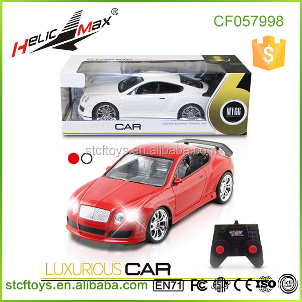 2 Channel Radio Controlled Car 1 16 Scale RC Model Cars with Front Light
