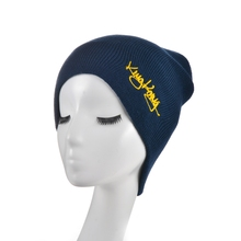 Chinese manufacturer custom embroidery slouch ski beanie hat