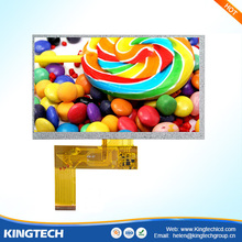 lcd lvds 50pin 40 pin 7 inch 4 wire resistive touch screen panel