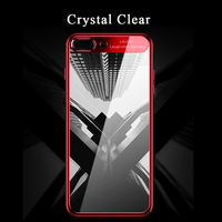 Mirror Electroplate Hard Plastic Case For Iphone