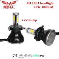 G5 LED headlight car bulb H4 H7 9005 9006 conversion beam kit with decoder and fan all in one factory directly high quality!