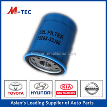 supply oe15208-53J00 engine oil filter with competitive price