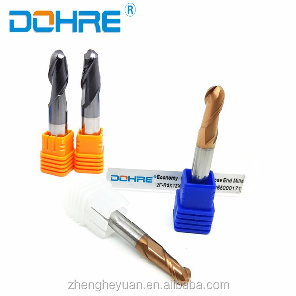 dohre/ctx/zhy cnc carbide engraving 2 flute long neck ball nose end mills