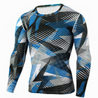 Long sleeve rash guards ; compression long sleeve shirts ; Fitness gym shirts