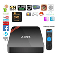 A95X in set top box Super Small A95x Android 6.0 amlogic S905X Quad core Tv Box internet tv box