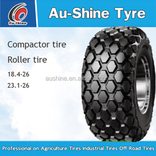 Agriculture roller tyre 23.1-26 with star pattern