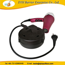 innovative auto retractable metal cable reel