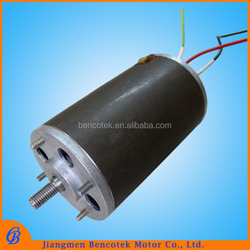 72 v Permanent magnetic electric mini pump dc motor