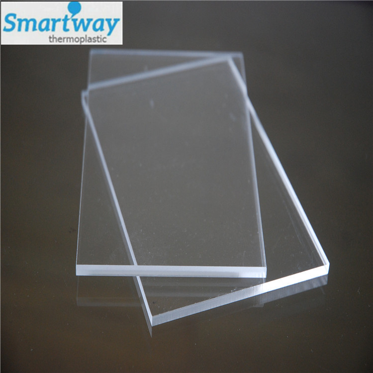 6x8 3mm cast transparent plastic sheeting acrylic perspex