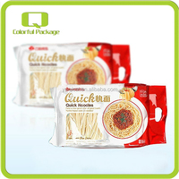 Top Quality Safty Food Grade Laminated BOPP Material Side Gusset Quick Noodles Food Packaging Bags